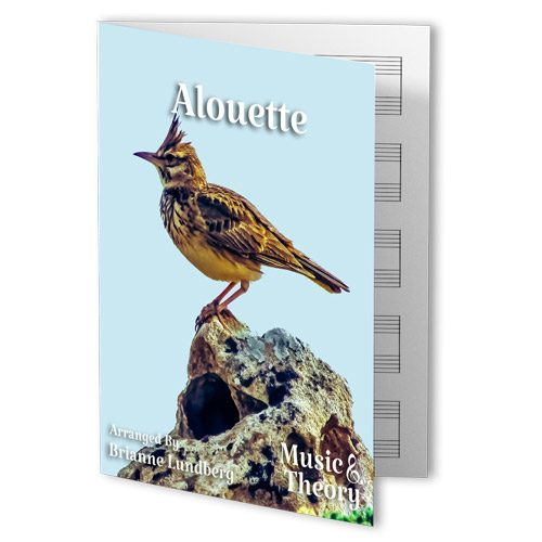 Alouette Piano Sheet Music