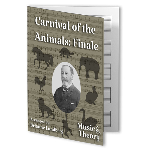 Carnival of the Animals Finale Beginner Piano Sheet Music