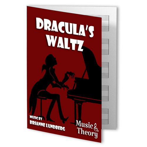Dracula's Waltz Piano Sheet Music