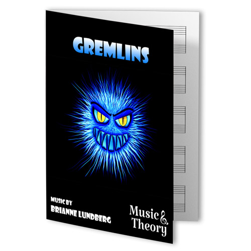 Gremlins Halloween Piano Sheet Music