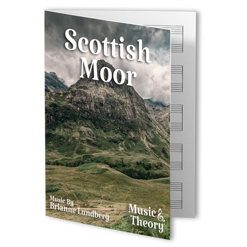 Scottish Moor Piano Sheet Music