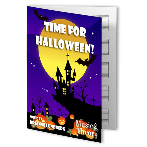 Time for Halloween! Piano Sheet Music
