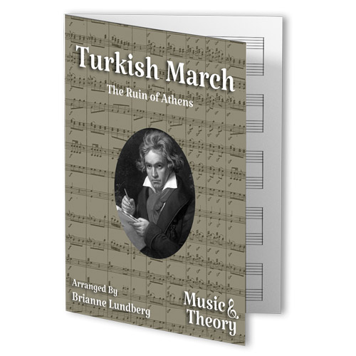 Turkish March (Beethoven) Beginner Piano Sheet Music