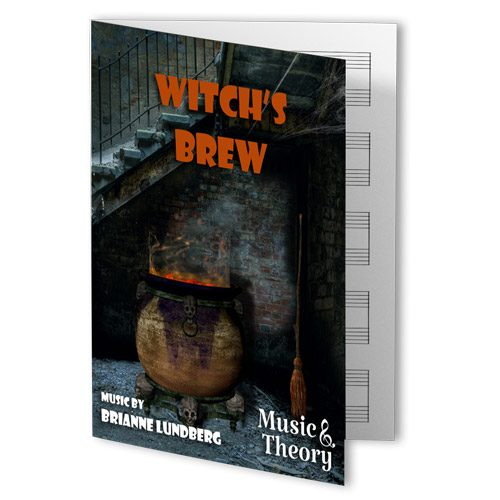 Witch's Brew Halloween Piano Sheet Music