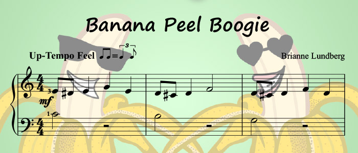 Banana Peel Boogie: A Beginner Jazz Piano Solo