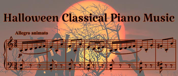 Halloween Classical Piano Sheet Music